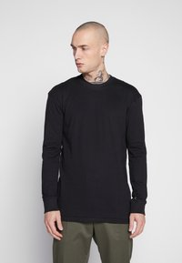 Common Kollectiv - UNISEX FLASH LONG SLEEVE - Bluzka z długim rękawem - black - 0