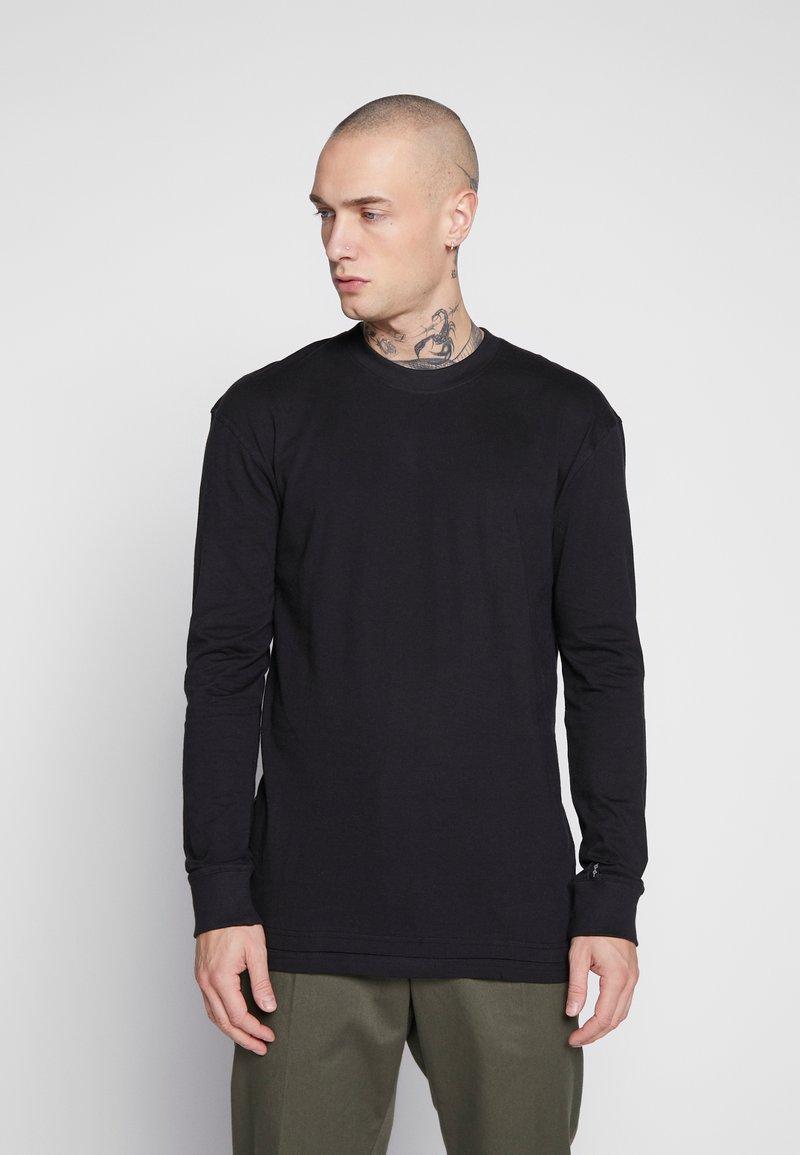 Common Kollectiv - UNISEX FLASH LONG SLEEVE - Bluzka z długim rękawem - black
