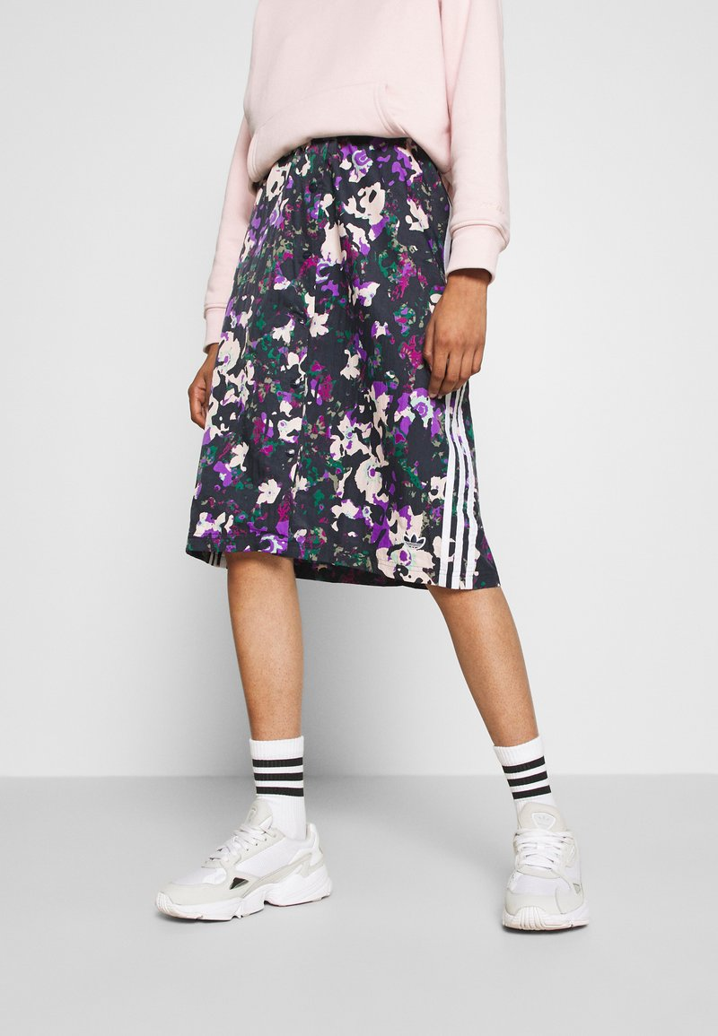 adidas Originals - BELLISTA SPORTS INSPIRED SKIRT - Spódnica ołówkowa  - multicolor