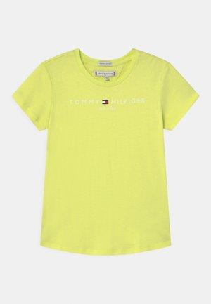 ESSENTIAL  - T-shirt con stampa - faded lime