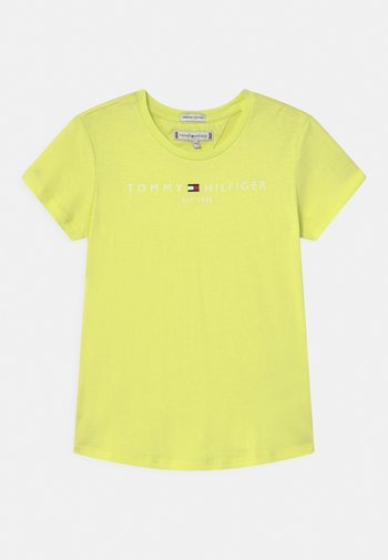ESSENTIAL TEE  - Print T-shirt - faded lime