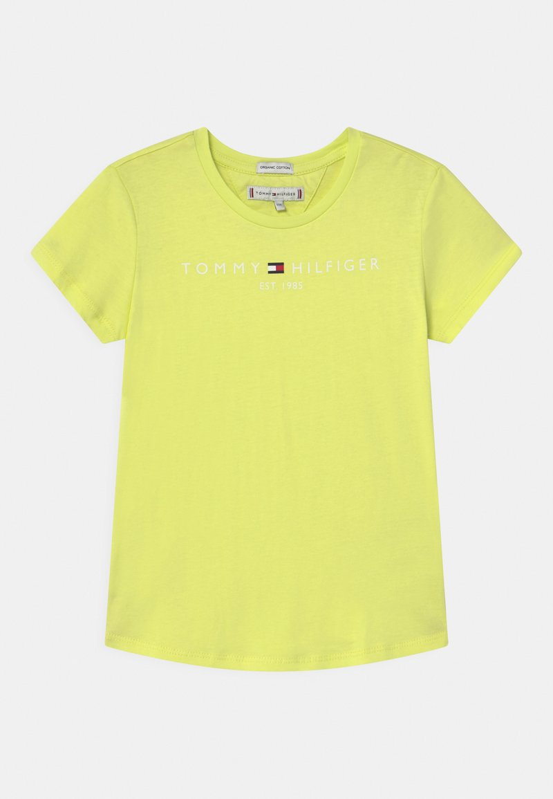 Tommy Hilfiger - ESSENTIAL  - Print T-shirt - faded lime
