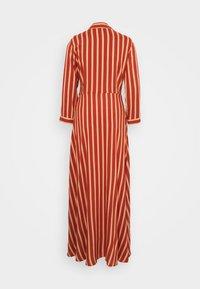 YAS Tall - YASSAVANNA STRIPE LONG DRESS - Maxi dress - arabian spice - 1