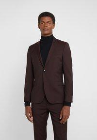 HUGO - Suit jacket - dark red - 0
