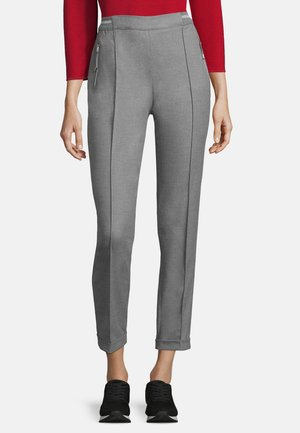 BETTY BARCLAY SCHLUPFHOSE MIT BIESEN - Trousers - grau
