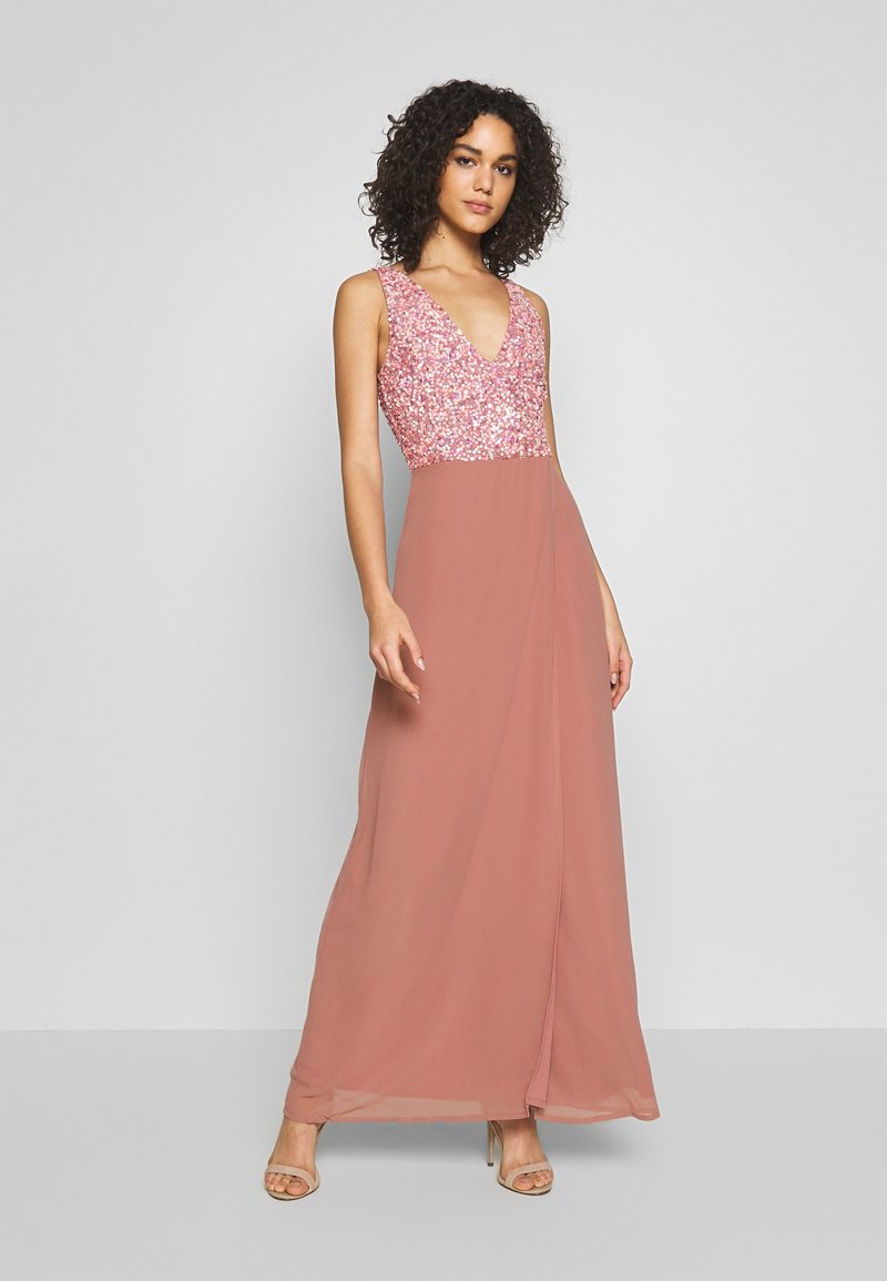 Lace & Beads - CADENCE WRAP MIX - Occasion wear - pink