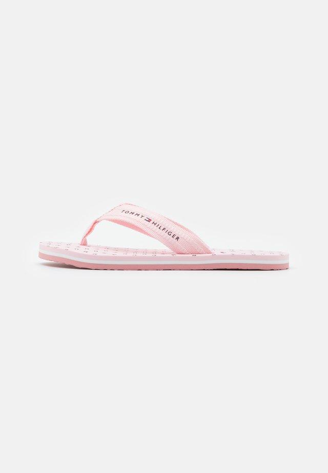 MNI FLAGS BEACH - Sandalias de dedo - light pink