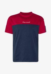 DARA - Print T-shirt - navy