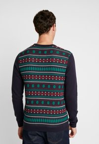edc by Esprit - CHRISTMAS - Jumper - navy - 2