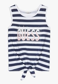 Guess - STRIPES - Top - white and blue strip - 0