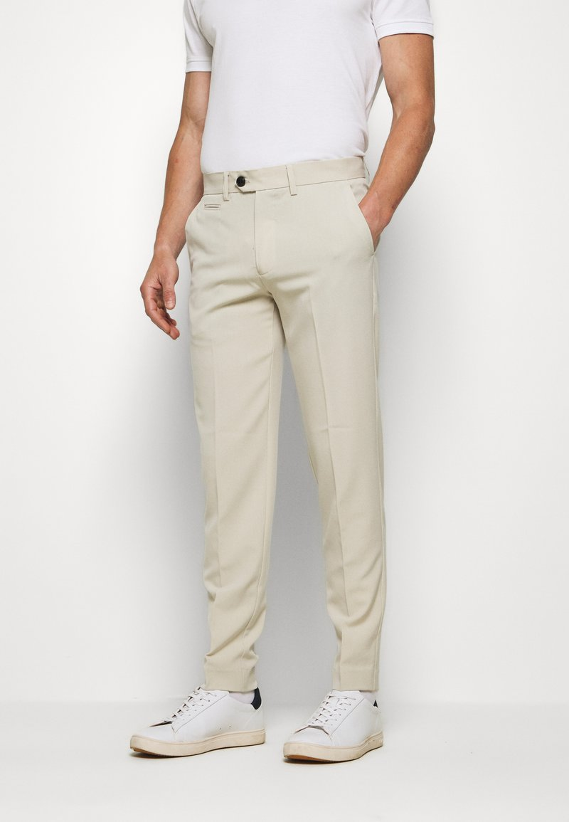 Lindbergh - CLUB PANTS - Trousers - light sand