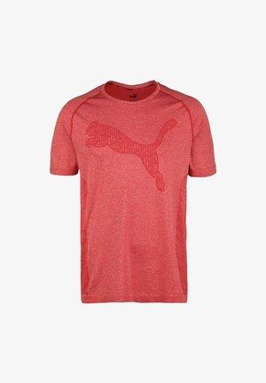 T-shirt sportiva - high risk red