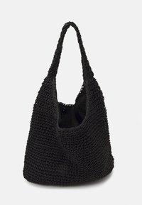Pieces - PCLONGO BAG - Tote bag - black - 2
