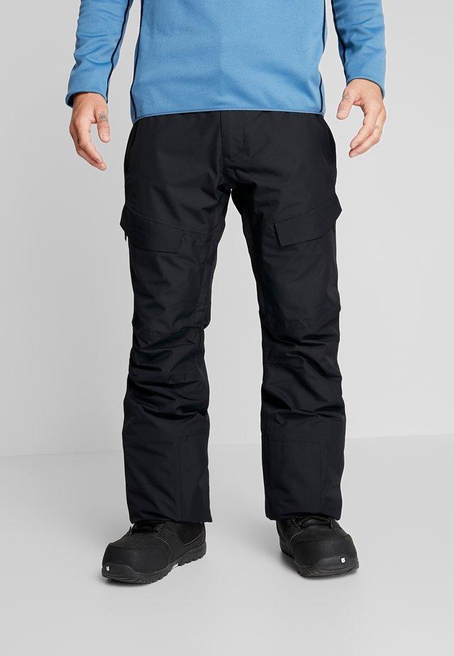 TILT PANT - Skibukser - black