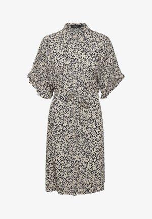 Shirt dress - buttercup print parisian night