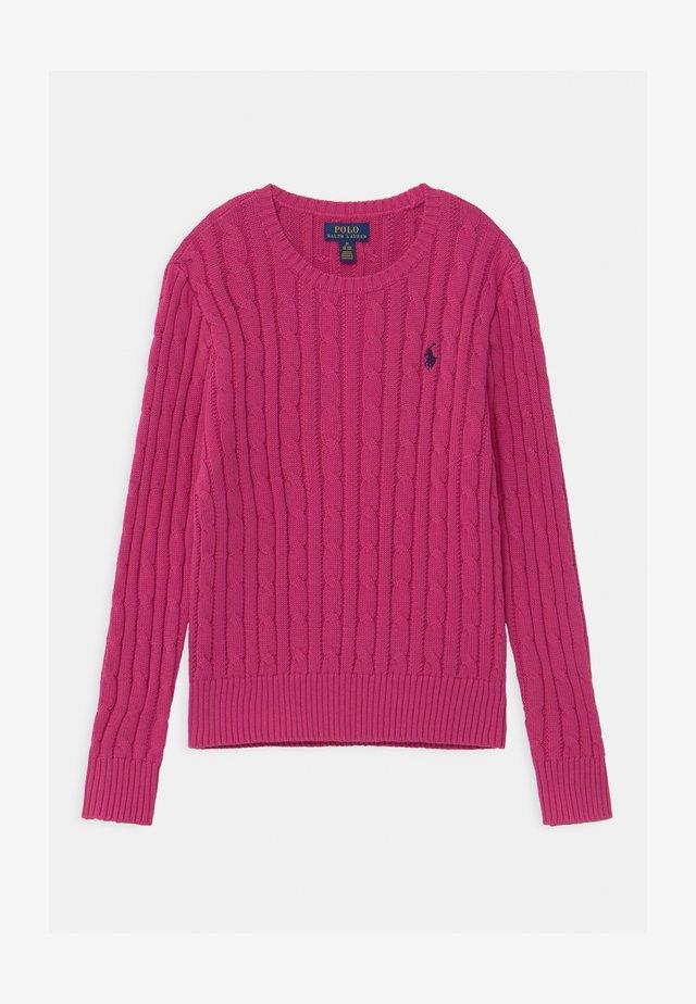 CABLE - Strikpullover /Striktrøjer - college pink