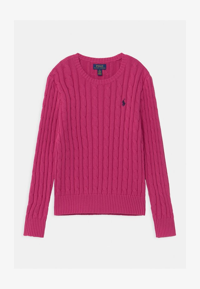 CABLE - Maglione - college pink