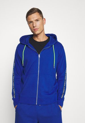 BRANDON - Zip-up hoodie - blue