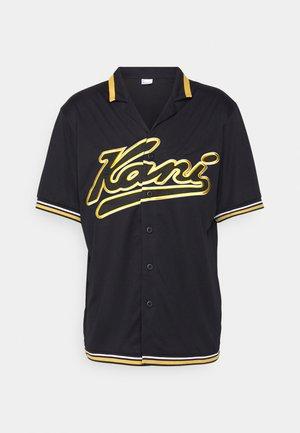 VARSITY BASEBALL - Shirt - black