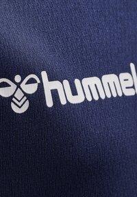 Hummel - HMLAUTHENTIC KIDS POLY JERSEY S/S - Print T-shirt - marine - 4