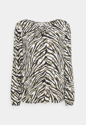 BLUSE LANGARM - Bluser - zebra
