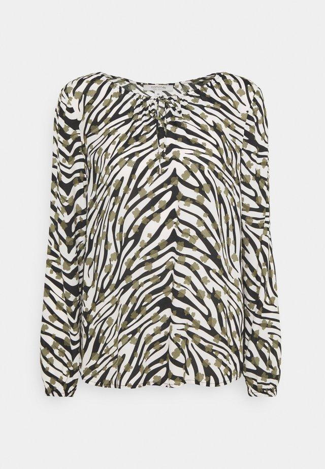 BLUSE LANGARM - Pusero - zebra
