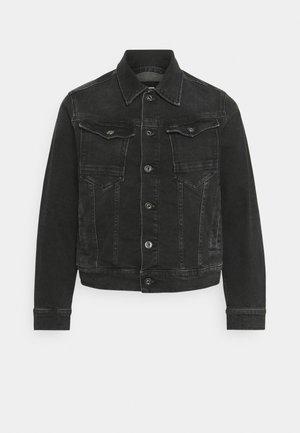 ARC 3D JACKET - Giacca di jeans - worn in blackbird