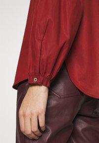 ARKET - BLOUSE - Košile - red dark - 6