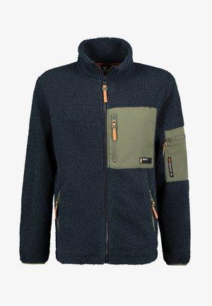 FLEECEJACKE MIT REISSVERSCHLUSS - Light jacket - dark-blue
