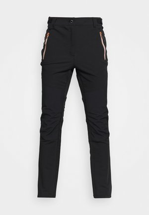 BRENNA - Outdoor trousers - black