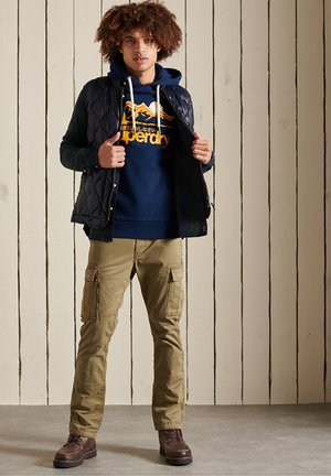 CORE GREAT OUTDOORS - Sweatshirt - dark blue