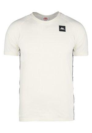 KAPPA AUTHENTIC JPN CERNAM T-SHIRT HERREN - Print T-shirt - white