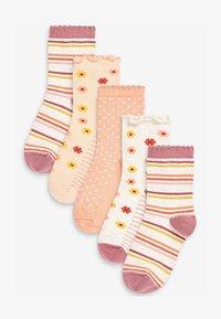 Next - 5 PACK - Socks - orange - 0