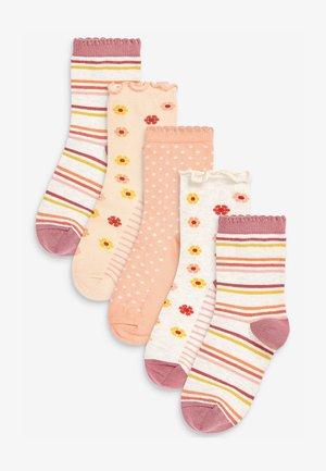 5 PACK - Socks - orange