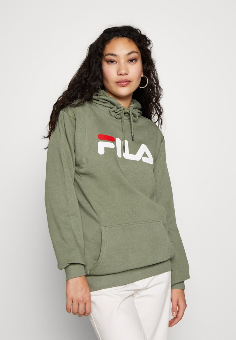 Fila Tall - PURE HOODY - Jersey con capucha - sea spray