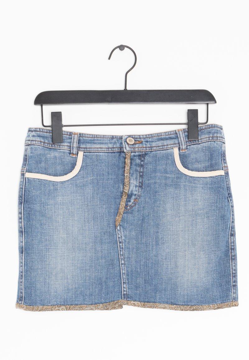 Versace Jeans Couture - Spódnica jeansowa - blue