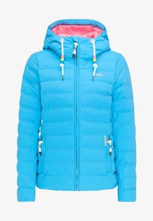 Zimní bunda - neon blau