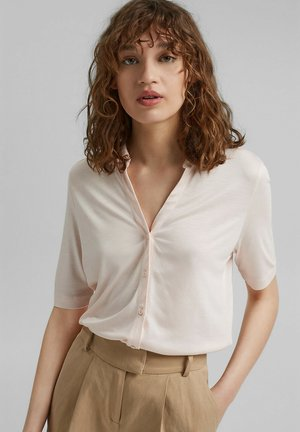Button-down blouse - light pink