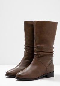 Dune London - ROSALINDA - Vysoká obuv - tan - 4