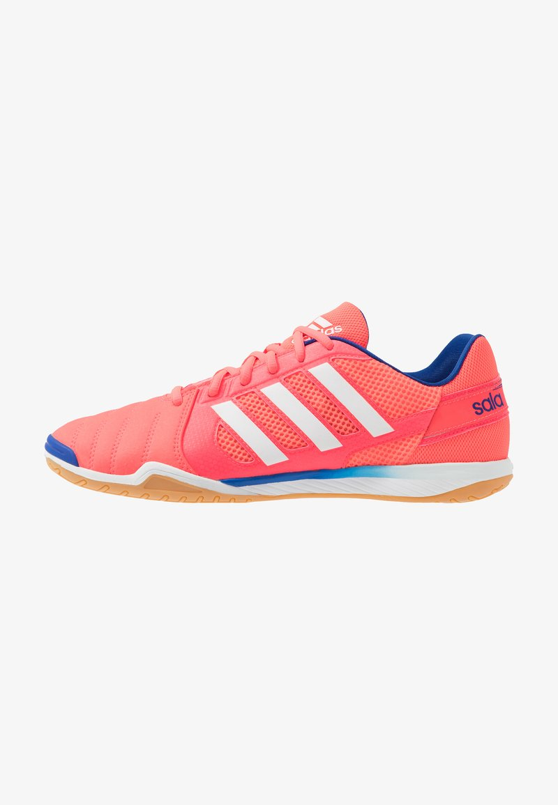 adidas Performance - TOP SALA - Indoor football boots - signal pink/footwear white/team royal blue