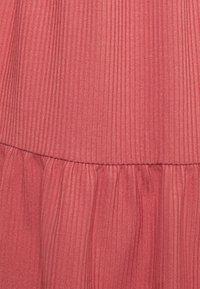 MAMALICIOUS - NURSING DRESS - Jersey dress - dusty cedar - 5