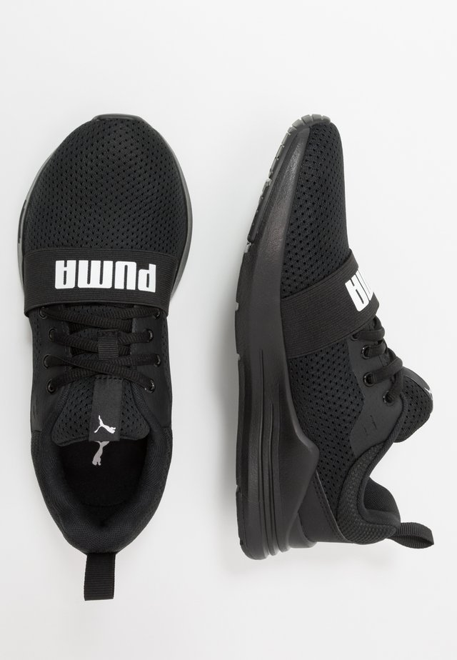 WIRED RUN - Obuwie do biegania treningowe - black