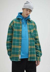 PULL&BEAR - Shirt - dark green - 0