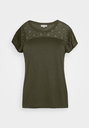 CARFLAKE MIX - T-shirts med print - forest night