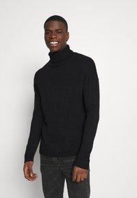 Another Influence - MADDOX  - Stickad tröja - black - 0