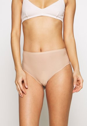 SOFTSTRETCH THONG - Thong - nude