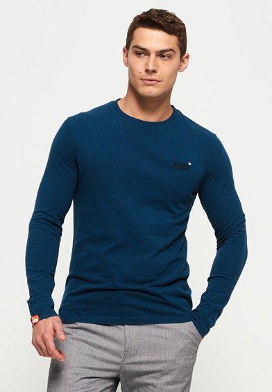 ORANGE LABEL - T-shirt à manches longues - blue