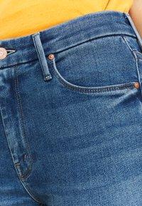 Mother - THE LOOKER CROP  - Skinny džíny - blue denim - 4