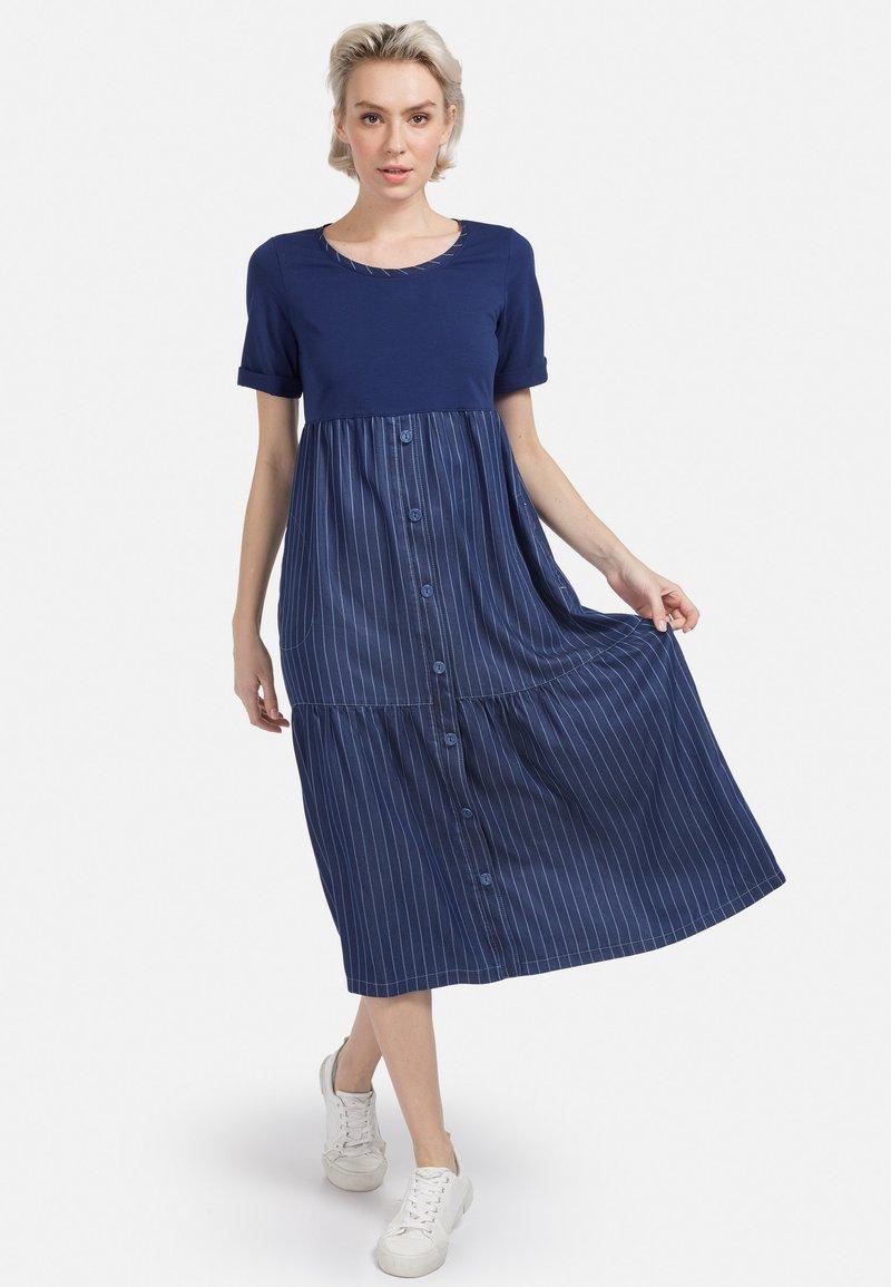 HELMIDGE - Day dress - blau
