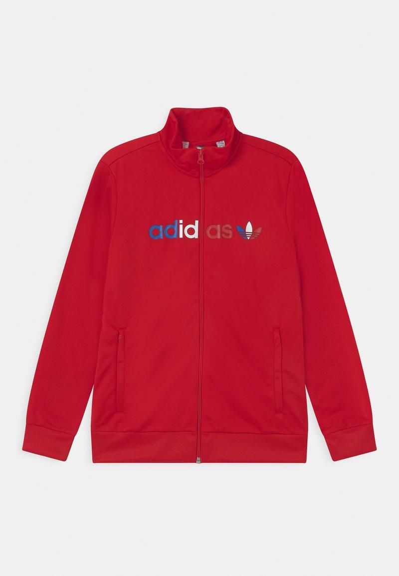 adidas Originals - TRI COLOUR UNISEX - Training jacket - scarlet